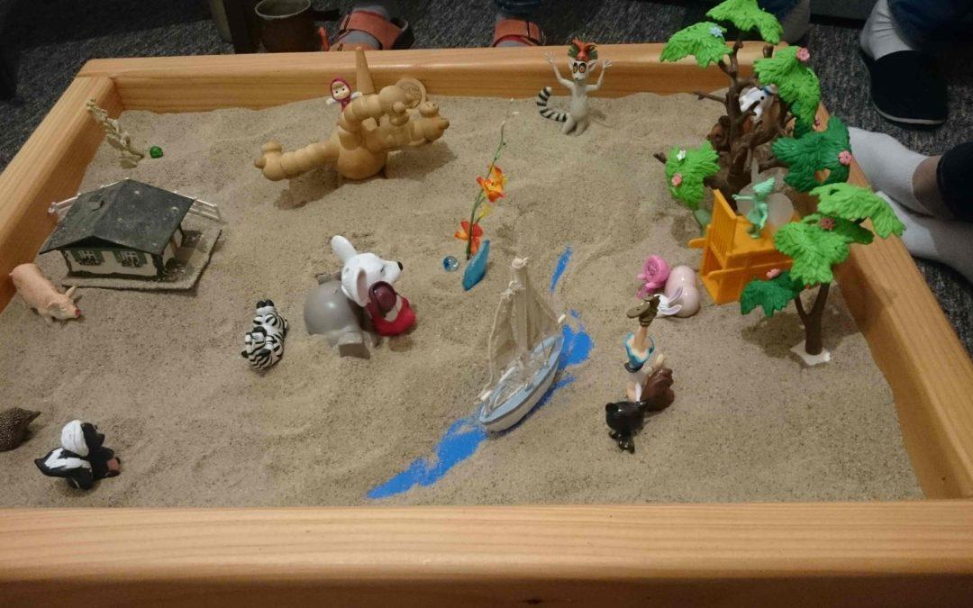 Interní školení psychoterapeutické práce s pískovištěm