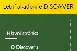 Jan Maršálek v týmu studentské Letní akademie Discover